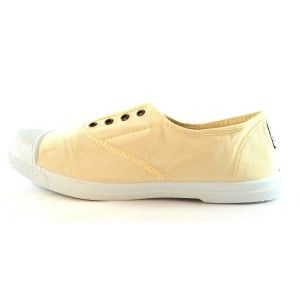 Natural World Sneakers Ingles Elastico Off-White