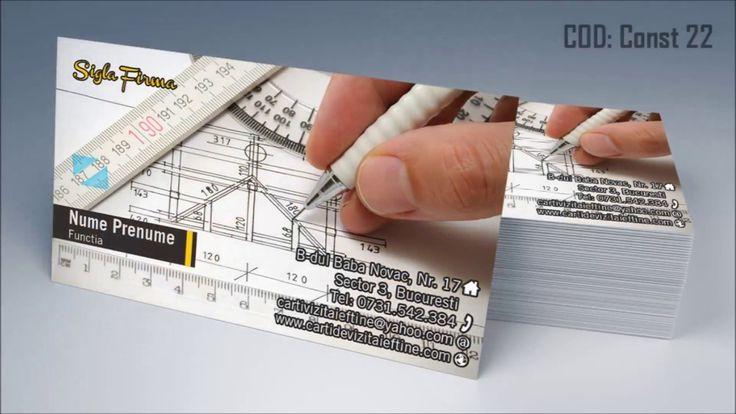 http://cartidevizitaieftine.com/ va prezinta modele carti de vizita constructii, inginer constructor, arhitect, designer interior. La noi in tipografia din Bucuresti le printam digital sau offset la calitate ireprosabila si cu finisari de exceptie.