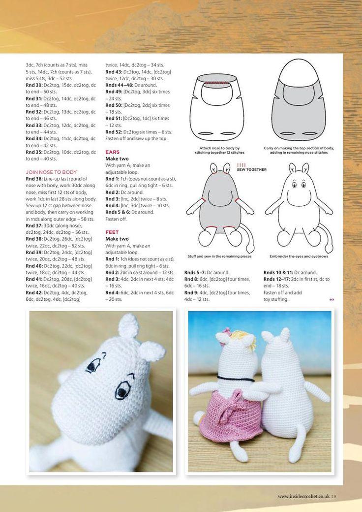 Inside Crochet Issue 66 2015 - 轻描淡写 - 轻描淡写