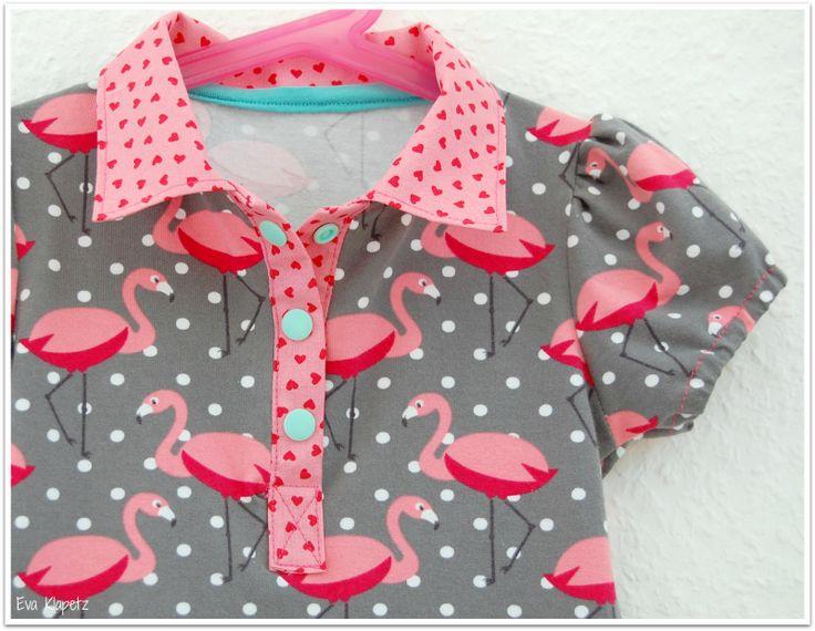 Doppelnaht: Flamingos im Sommer