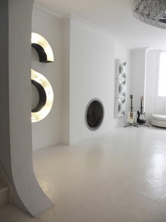 7 besten futuristische interieur das einige ideen f r die for Innenarchitektur 60er