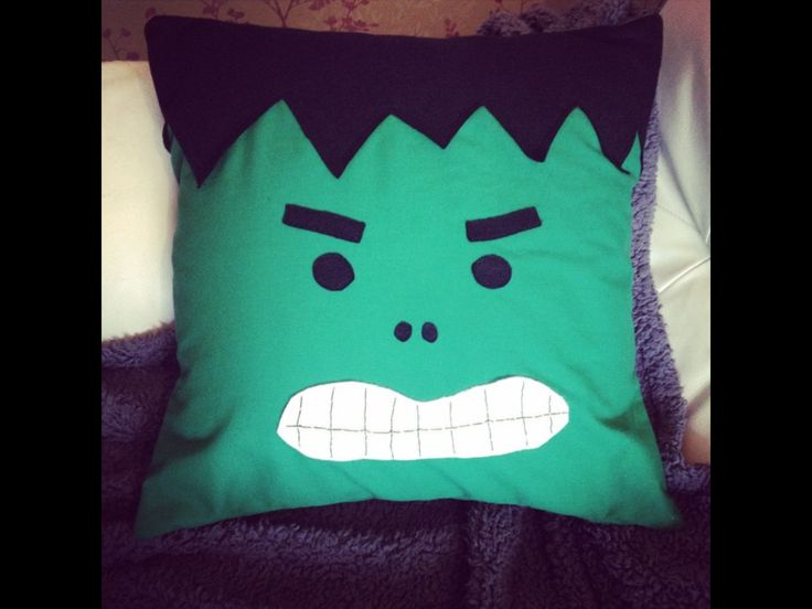 Hulk cushion!