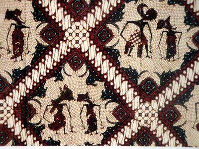 """""""wayang"""" batik Indonesia"""