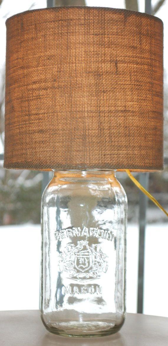 best ideas about jar lamp on pinterest mason jar light fixture jar. Black Bedroom Furniture Sets. Home Design Ideas