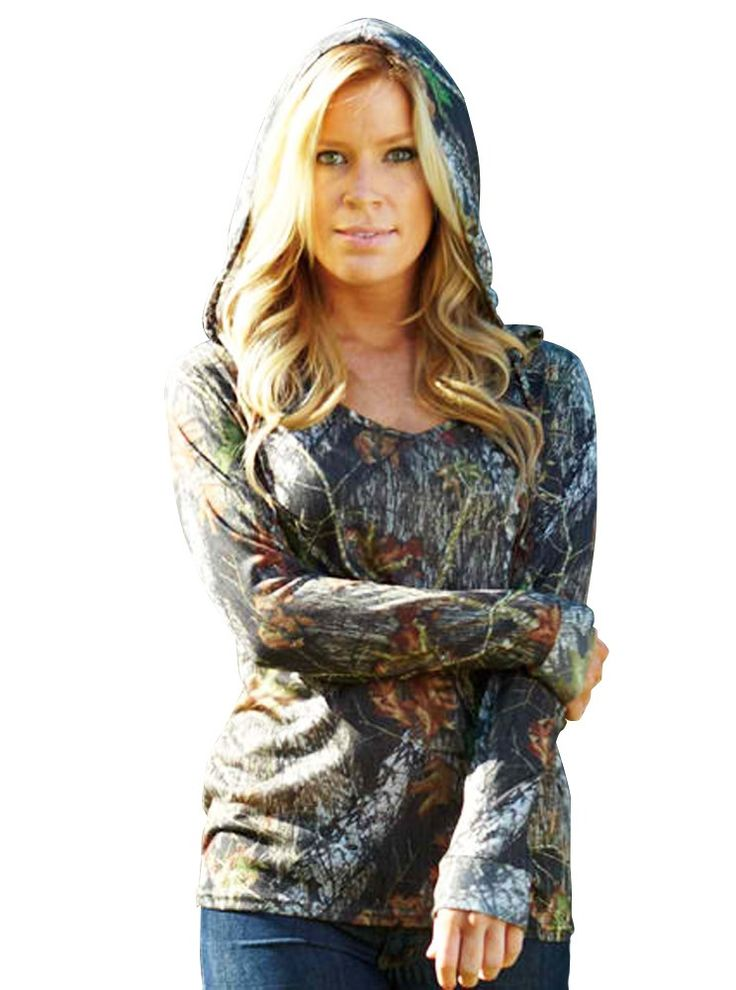 Southern Sisters Designs - Mossy Oak Hoodie -  Lightweight Camo For Women, $28.95 (http://www.southernsistersdesigns.com/mossy-oak-hoodie-lightweight-camo-for-women/)