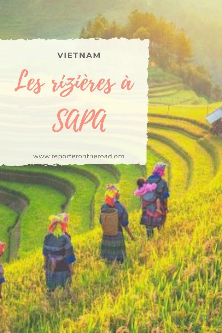 3 jours dans les rizières de Sapa, au Vietnam. A …