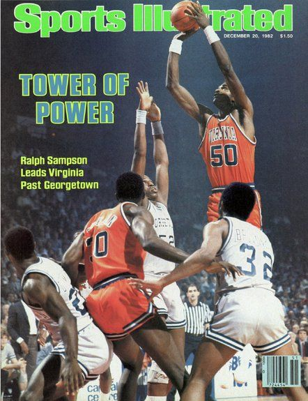 Ralph Sampson of The Cavaliers