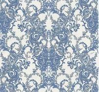 Barocco peltro e azzurro