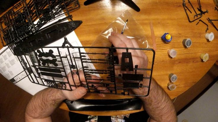 Building the Cutty sark revell model 1:220 part 1