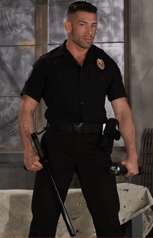 Randy Guys In Uniform Banging
