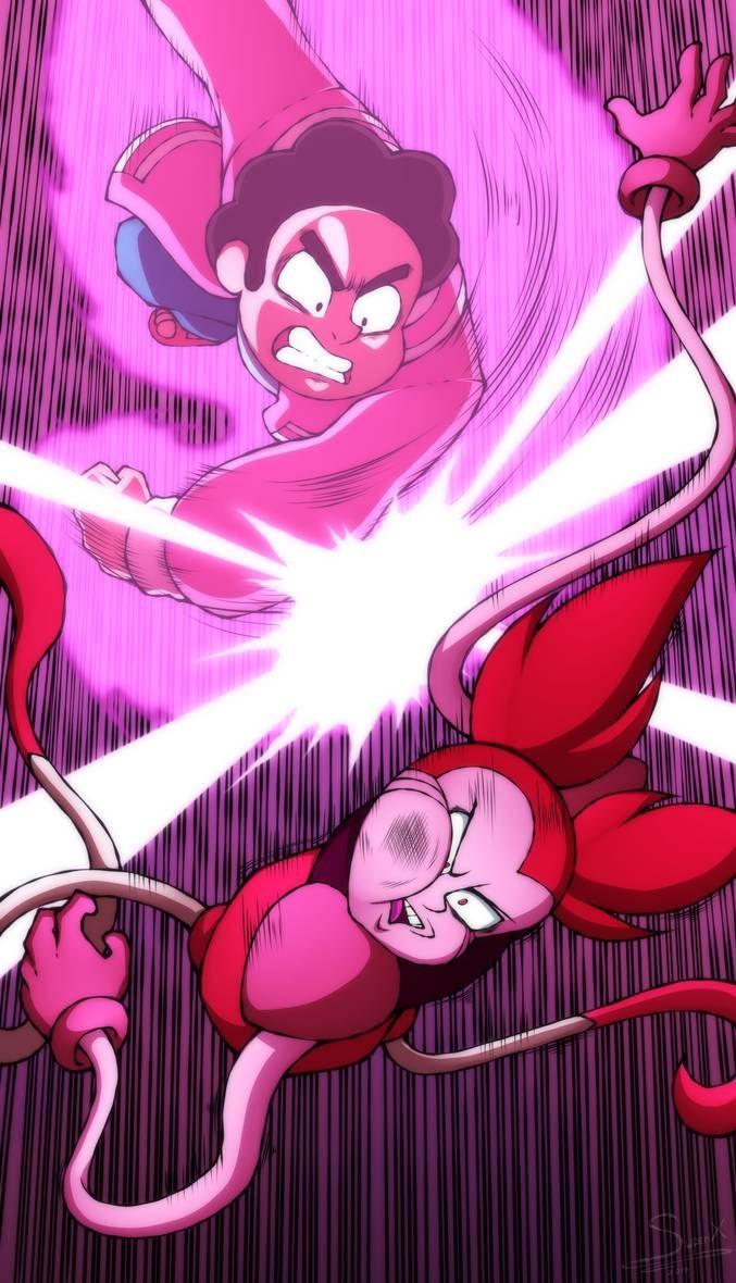 Steven Vs Spinel By Xsuperix On Deviantart Steven Universe