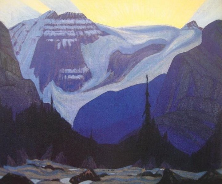 Early Morning, Rocky Mountains - J. E. H. MacDonald