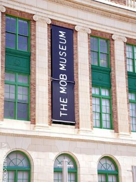 The Mob Museum Las Vegas. This is an AWESOME experience and very well done.