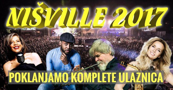 NIŠVILLE poklanja tri puta po jedan komplet ulaznica (plus 2 puta po jedan VIP komplet) za najposećeniji džez festival u Jugoistočnoj Evropi! 10.-13. avgust, Niška tvrđava... Info http://nisville.najboljeponude.com/ref/d7651261/