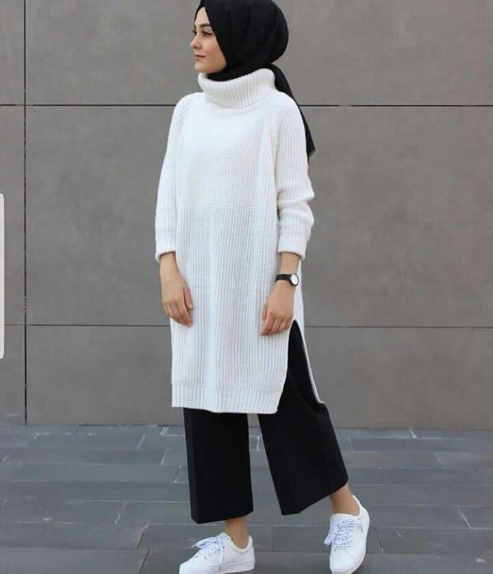 #hijabi_bj Beautiful outfit from Lamelif Giyim Fol…