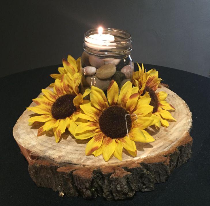 Autumn Wedding Centerpieces Tables