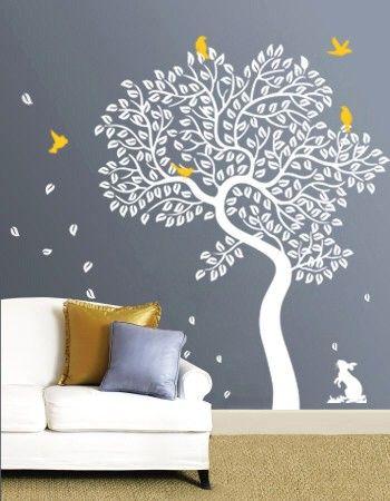 Such a cute kids wall idea