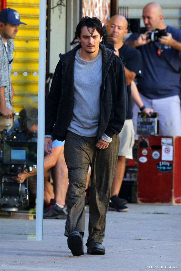 Pin for Later: Rupert Friend Is Back on the Set of Homeland! So, Quinn's Not Dead?