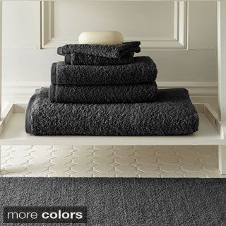 Amraupur Overseas Egyptian Cotton Towel and Bath Rug 6-piece Set | Overstock.com Shopping - The Best Deals on Bath Towels