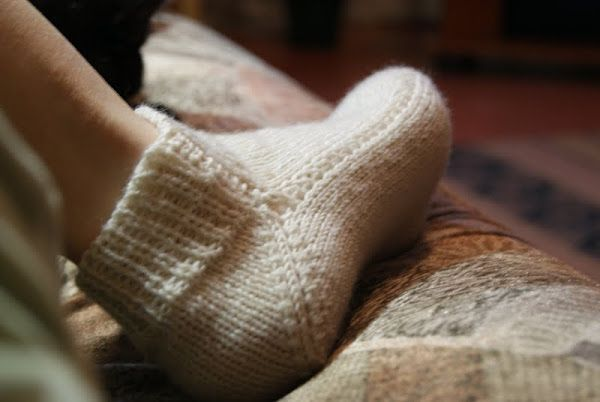 Носки на двух спицах без шва.. Обсуждение на LiveInternet - Российский Сервис Онлайн-Дневников