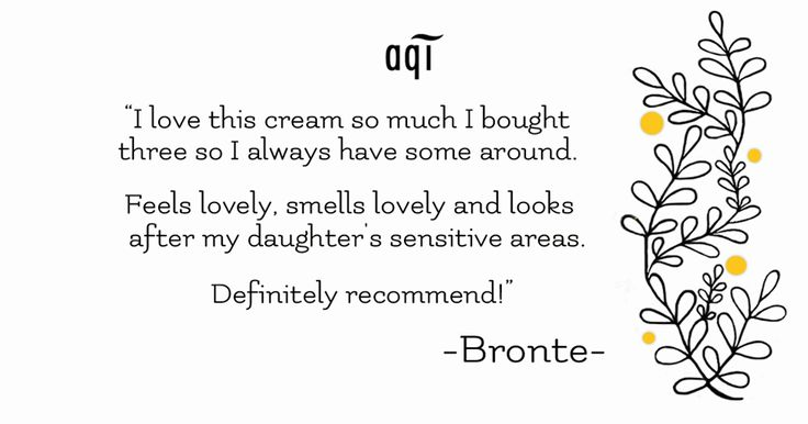 Thank you Bronte for this amazing product review.Shop now so you always have our Extra Soothing Nappy Rash Cream handygoo.gl/05qRza