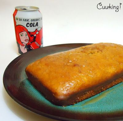 Cuuking! food, photography & fun: Bizcocho de Coca-Cola glaseado