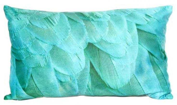 Macaw Teal Cushion - 30x50 cmAccent your home with custom cushions from BHL. The perfect way to add some personality to your living space, these beauties will be the stars of your sofa!