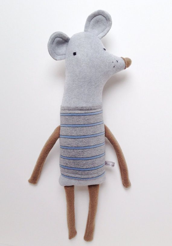 Plush Rodent Friend- Finkelstein's Center Handmade Creature