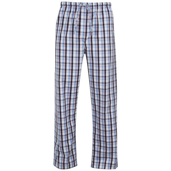 Derek Rose Men's Palermo 2 Trousers - Multi (120 BRL) ❤ liked on Polyvore featuring men's fashion, men's clothing, men's pants, men's casual pants, multi, mens elastic waist pants, mens cotton ties, men's relaxed fit pants, mens ties and mens cotton pants