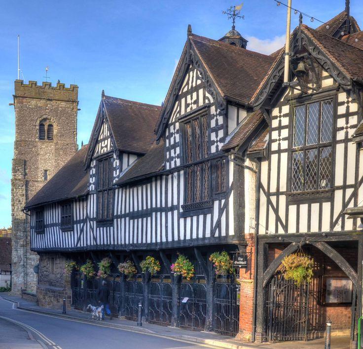 Town centre, Much Wenlock, Shropshire