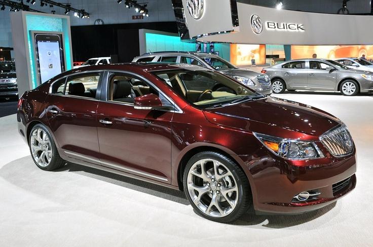 Элегантный Buick LaCrosse GL Concept