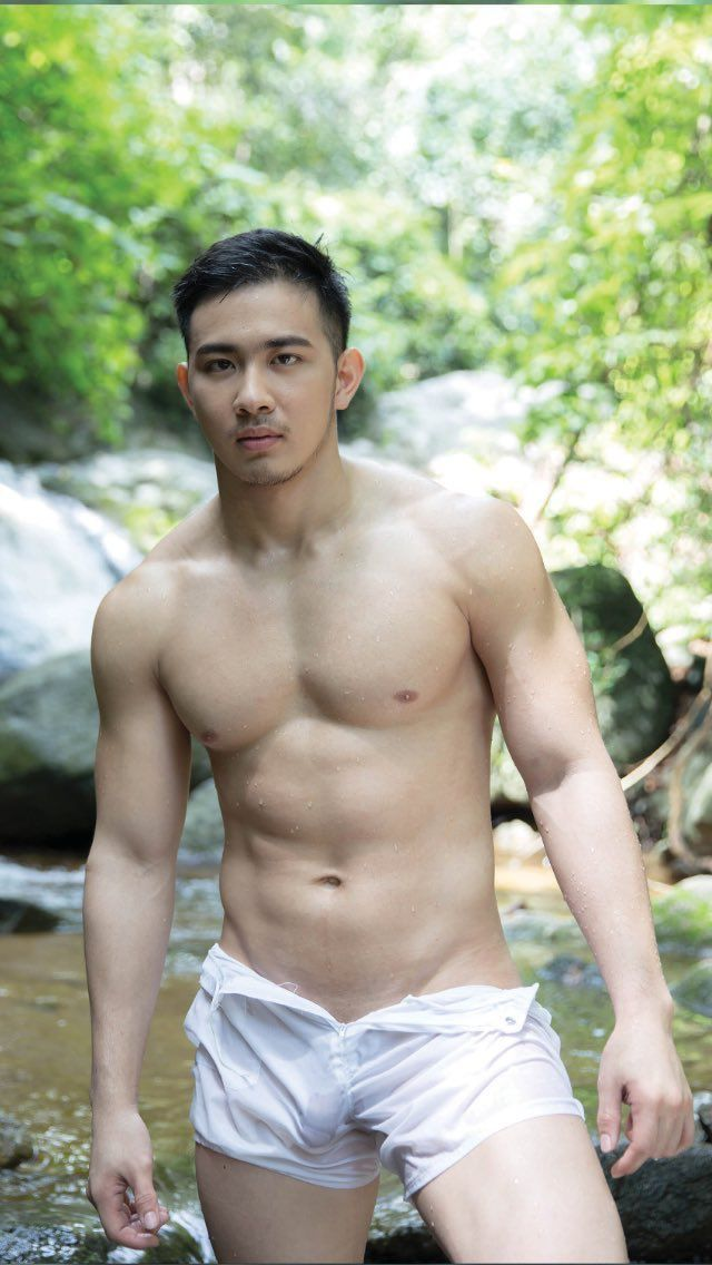 Hot thai male model nude