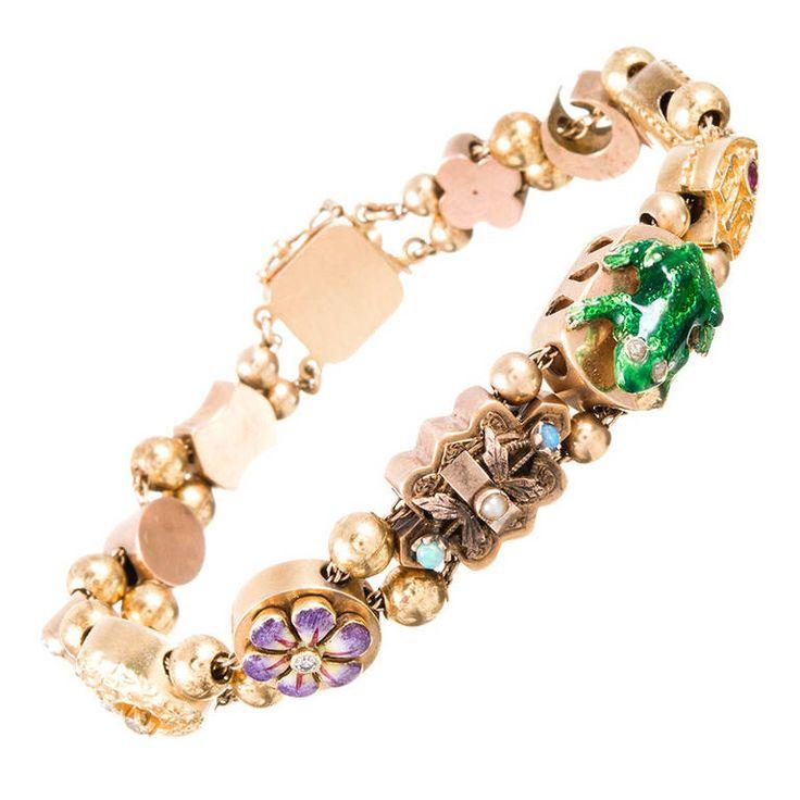 Slide Charms For Bracelets: Slide Bracelets On Pinterest