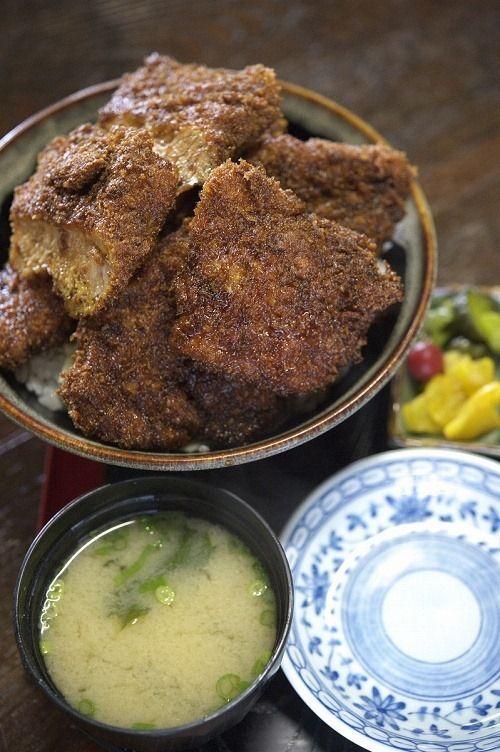 Sauce Katsudon, Japanese Pork Cutlet Rice Bowl ソースカツ丼