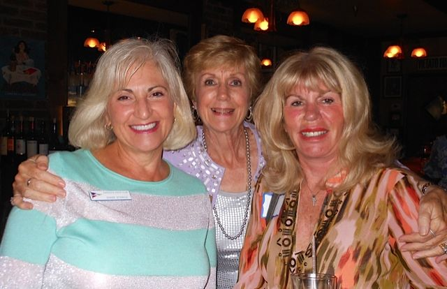 Diane Stabile and Virginia Czaja with guest  at the Sarsota Sister Cities Meet & Greet at Carigiuios on Palm Ave. in downtown Sarasota