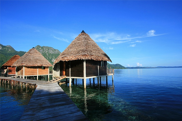 Ora Beach Resort, Saleman North Seram, Ambon, Indonesia