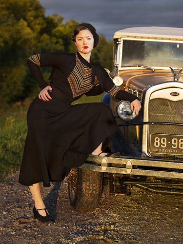 Bonnie and Clyde miniseries History channel, December 2013.