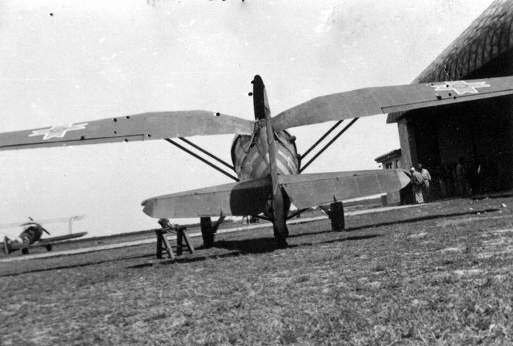 Polish (PZL) P-11c in Romanian (IAR) Air Force before WWII .