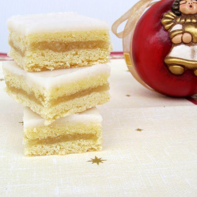 formine e mattarello: Cubetti al limone (zitronen schnitten)