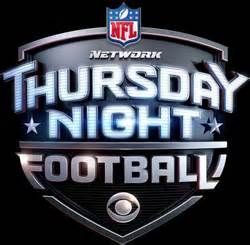 It's Thursday Night Football time!!