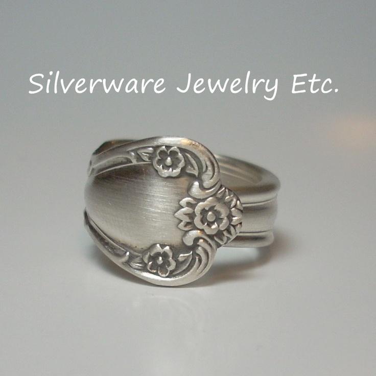 Best Spoon Ring Vintage Spoon Jewelry DAYBREAK via Etsy
