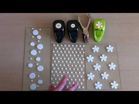 Homemade Foam Background Stamps: Part 1