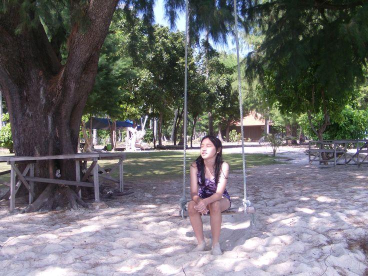 Cilik Island or Little Island, Karimunjawa Archipelago, Central Java, Indonesia.