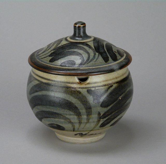 Bernard Leach: Jam Pot    by American Museum of Ceramic Art, via Flickr