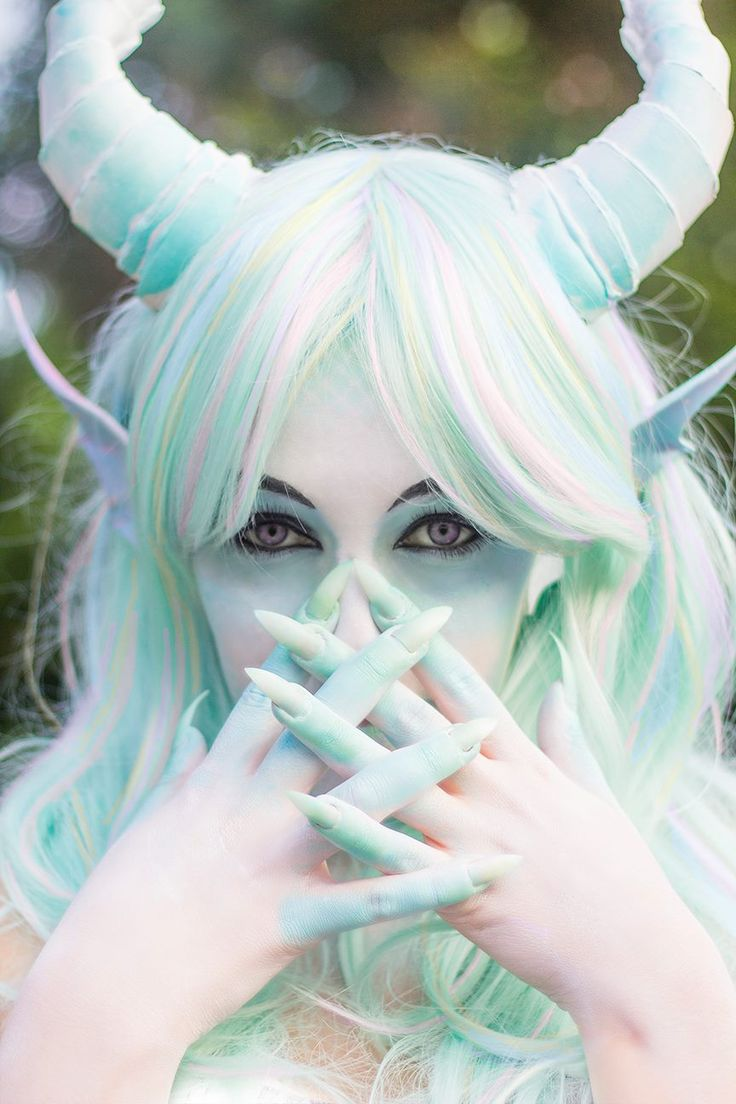 Cerulas Pastel Dragon U2665 U2665 U2665 Great Use Of Props Hair And Makeup To Create A Fantasy ...
