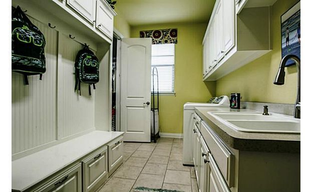 Laundry/mudroom combination- smart!