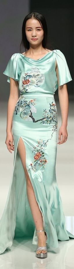 China Fashion Week - Zhang Zhifen - NE Tiger…