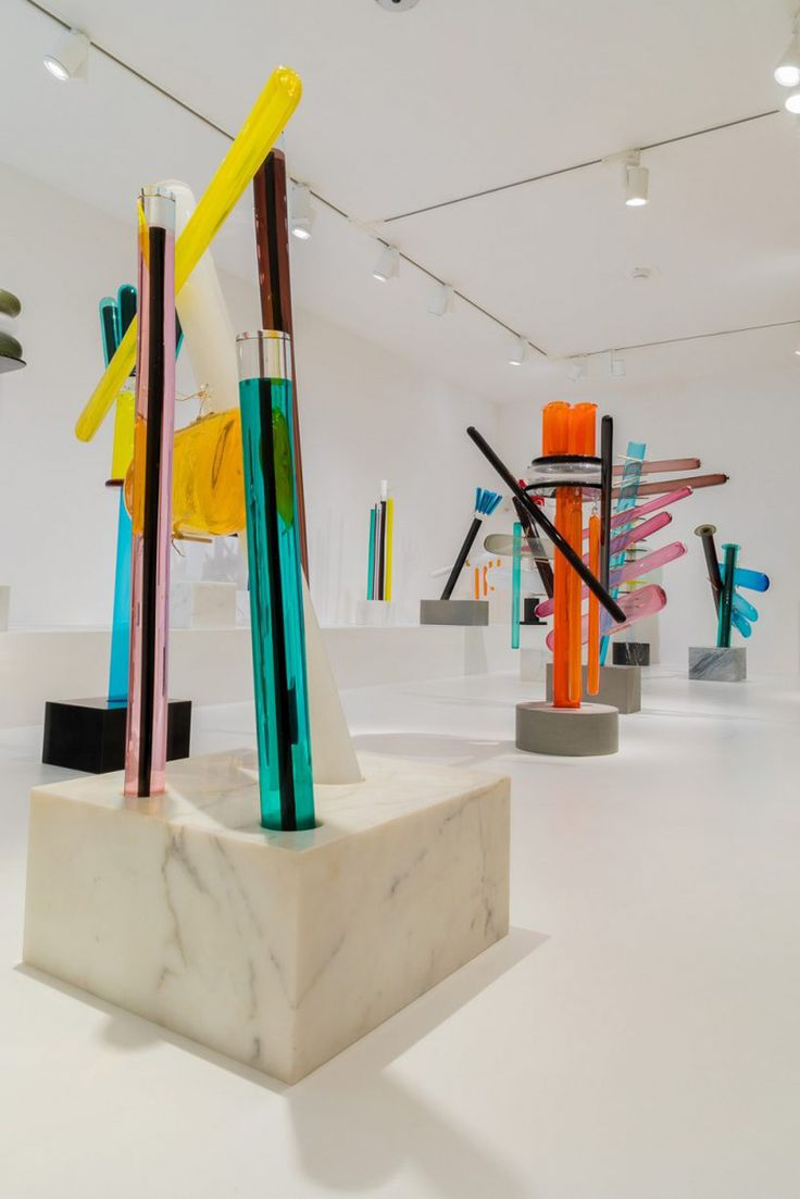 """Ettore Sottsass """"The Glass"""" Curated by Luca Massimo Barbero at Venice Biennale 2017   Yellowtrace"""