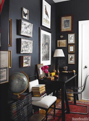 Black Painted Room Ideas 298 best black interiors images on pinterest | black interiors