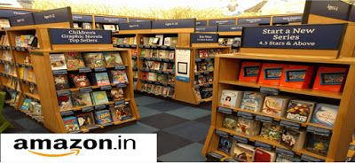 Amazon India [amazon.in] launches 'used books store'   Buy Used Book From amazon.in  Amazon India just made it easier to buy used books. The e-commerce giant launched a used books store in India last week with over one lakh titles on sale.Used books are v